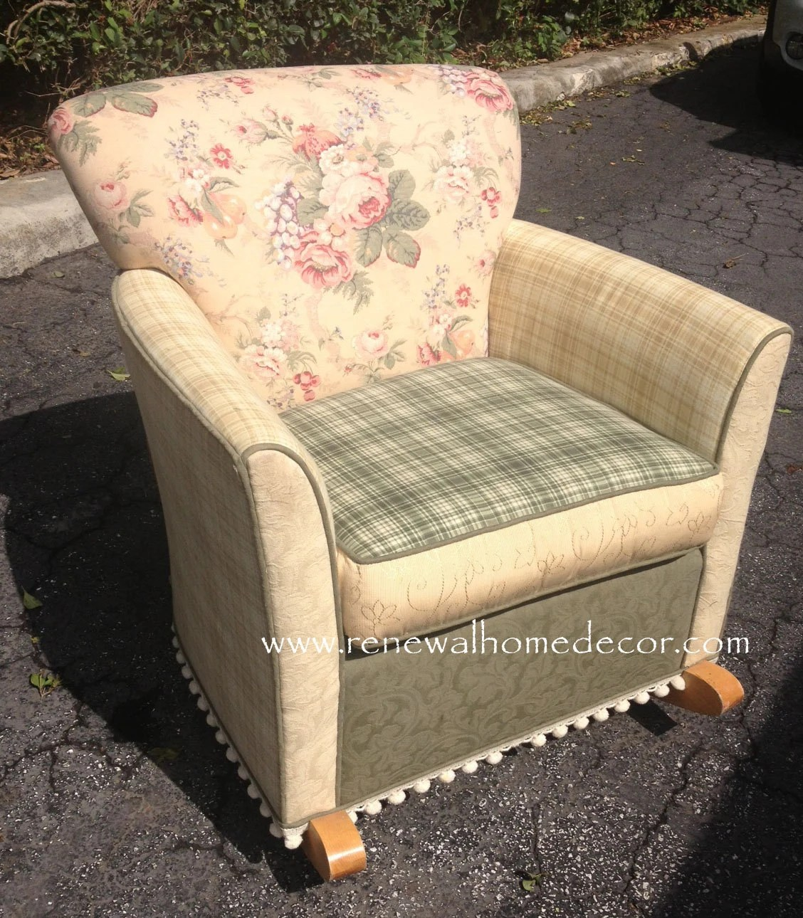 slipcover for glider rocking chair folding nsn upholstered cool awesome small