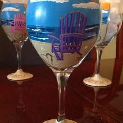 Wine Adirondack Chair Wedding Covers In Sri Lanka Beach Glass