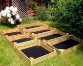 Handmade Wooden Vegetable Planter/ Raised Bed - CockneyCarpentry