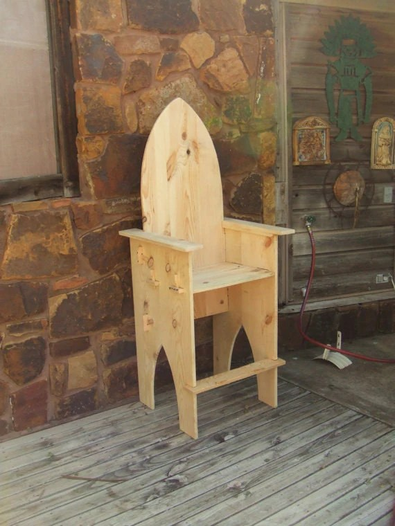 chair stool with back bedroom upcycling break down custom bar medieval sca faire wooden