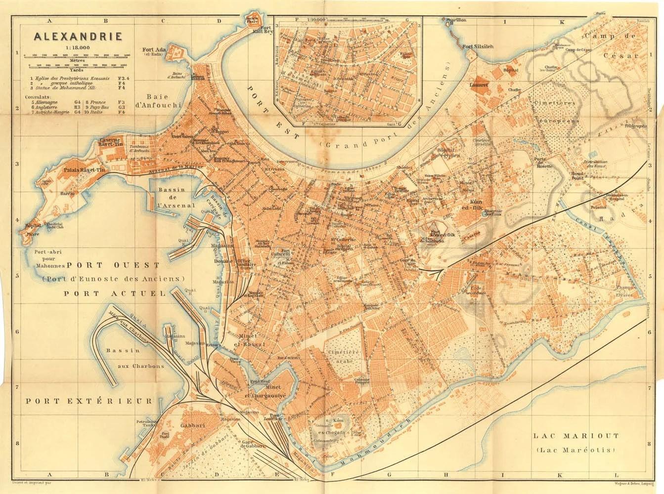 Street Map Alexandria Egypt