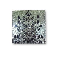 Mirror Mosaic Geometric Art Modern Decor wall sculpture