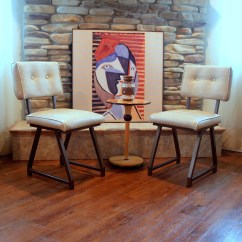 Retro Kitchen Chairs Cafe Table And Furniture Vintage 1950s Or 1960s By