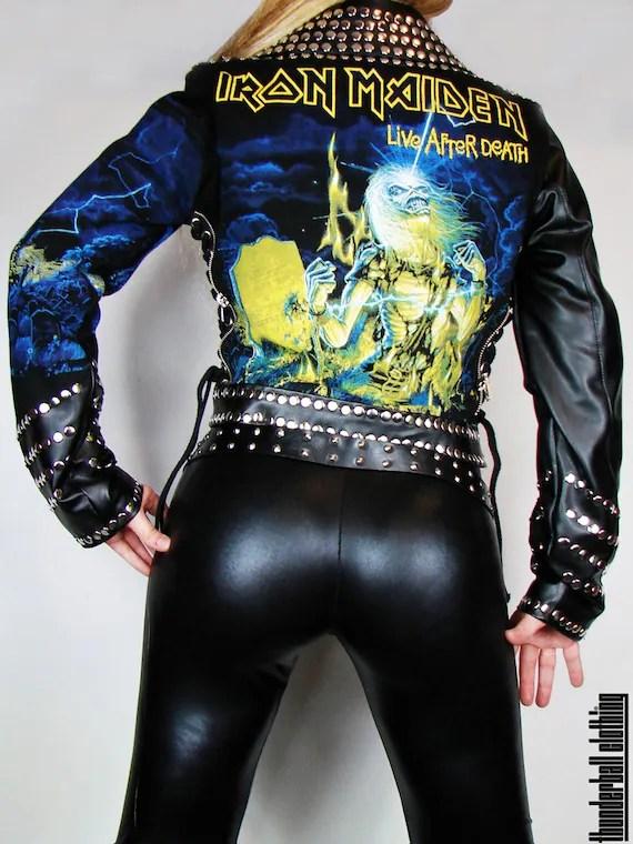 Iron Maiden Biker Jacket