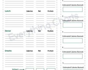 Popular items for diet journal on Etsy