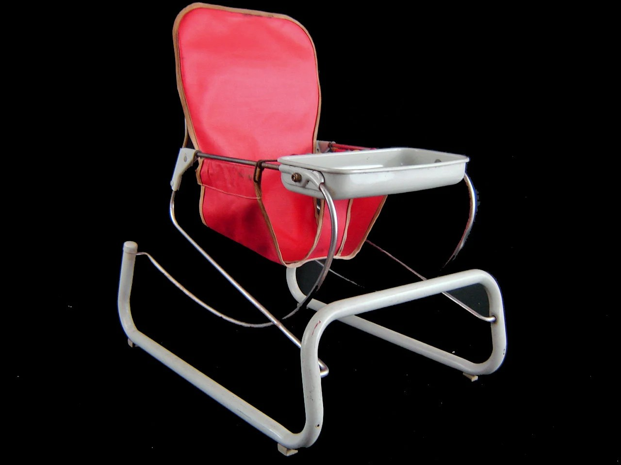 Bouncy Chair Vintage 50 39s Cosco Metal Baby Bouncer Chair Original
