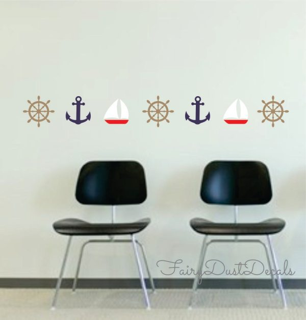 Nautical Vinyl Wall Decal