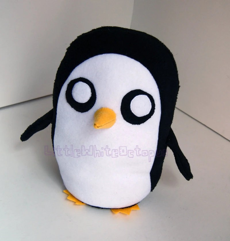 Adventure Time Gunter Penguin Plushie