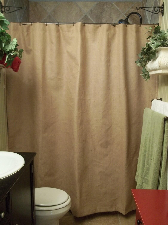 Long Shower Curtain
