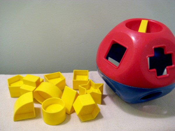 Vintage Tupperware Toys Shape- Shape Sorter Ball