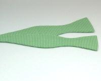 Men's Bow Tie, grass green mini gingham bow tie, kelly ...