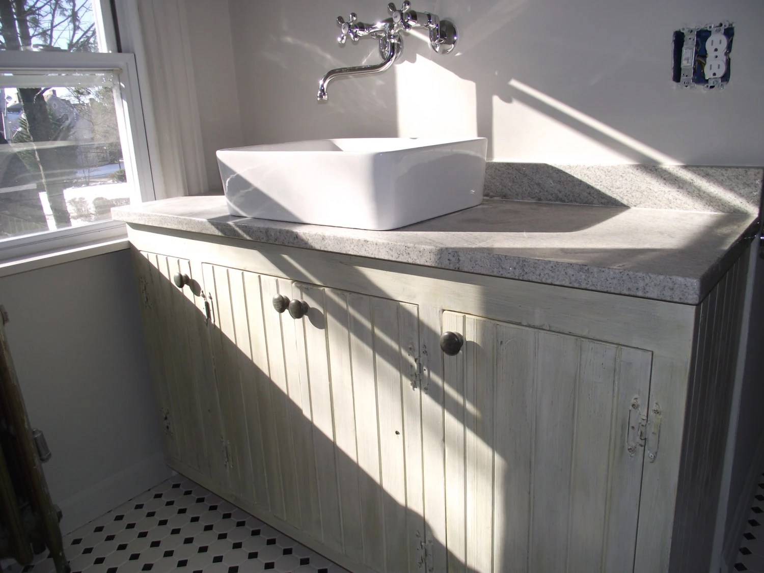 Bathroom Vanities Custom Made Raw or endless painted