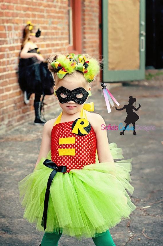 Robin superhero costume