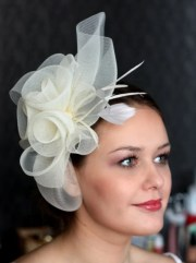 wedding hat couture bridal hat