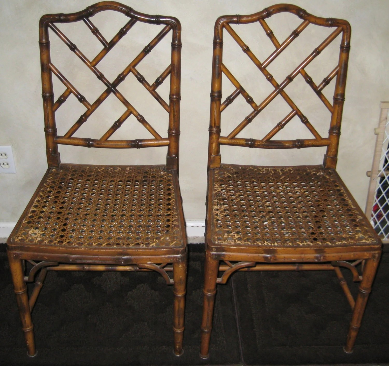 chinese chippendale chairs uk outdoor table and 6 faux bamboo
