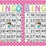 Printable Bingo Birthday Girl Party Game By