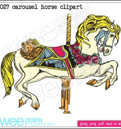 carousel horse clip art www imgkid com the image kid has it [ 1000 x 1000 Pixel ]