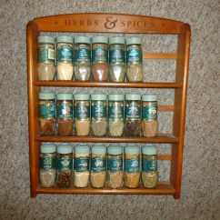 Kitchen Spice Rack Modern Table Sets Vintage Mccormick Herbs & Spices By ...