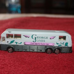 George Jones Rocking Chair How To Make A Cushion Tour Bus Collectible Pricereduced