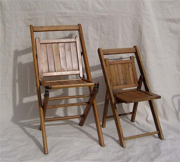 Antique Wood Folding Chair - Wood Folding Chairs - Vtwctr