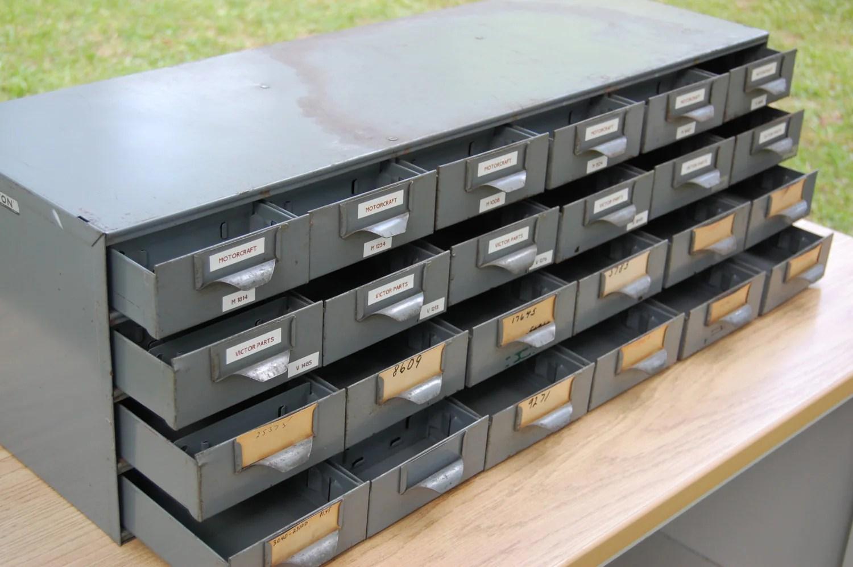 Art Bin Storage Drawers
