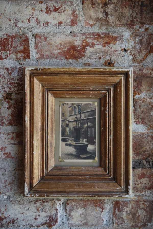 Framed Postcard Wall