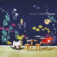Wall Decal Kids Under the Sea Wall Decal Collection Nursery
