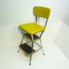 Cosco High Chair Cover Target Rocking Retro 50s Vintage Step Stool Kitchen