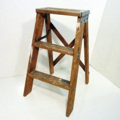 Stool Chair Fantastic Furniture X Rocker Pro Series Gaming Old Wooden Step Paint Splashes Vintage Patina