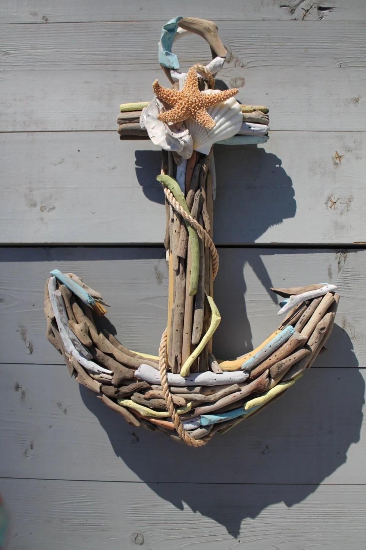 Driftwood Wall Art Nautical