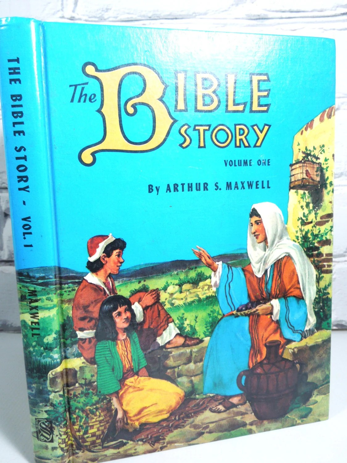 Vintage Children S Book The Bible Story Volume One