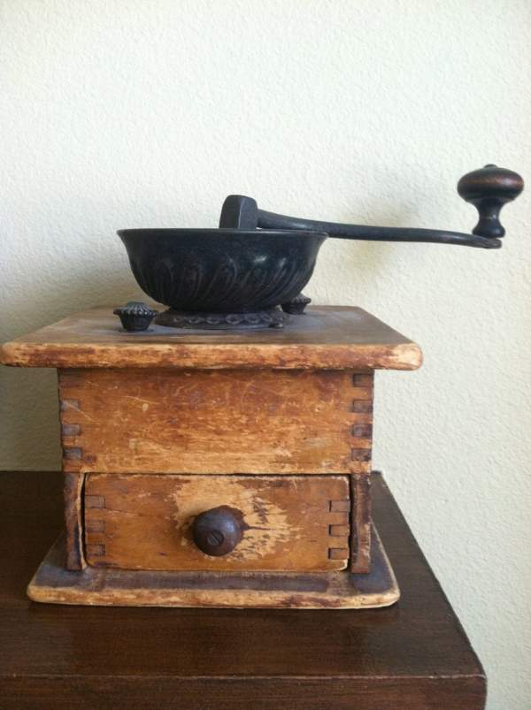 Antique Coffee Grinder Early 1900'