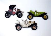Items similar to Vintage Car Wall Decor Three Wall Plaques ...