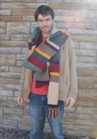 Doctor Who Crochet Scarf 12 feet season 12
