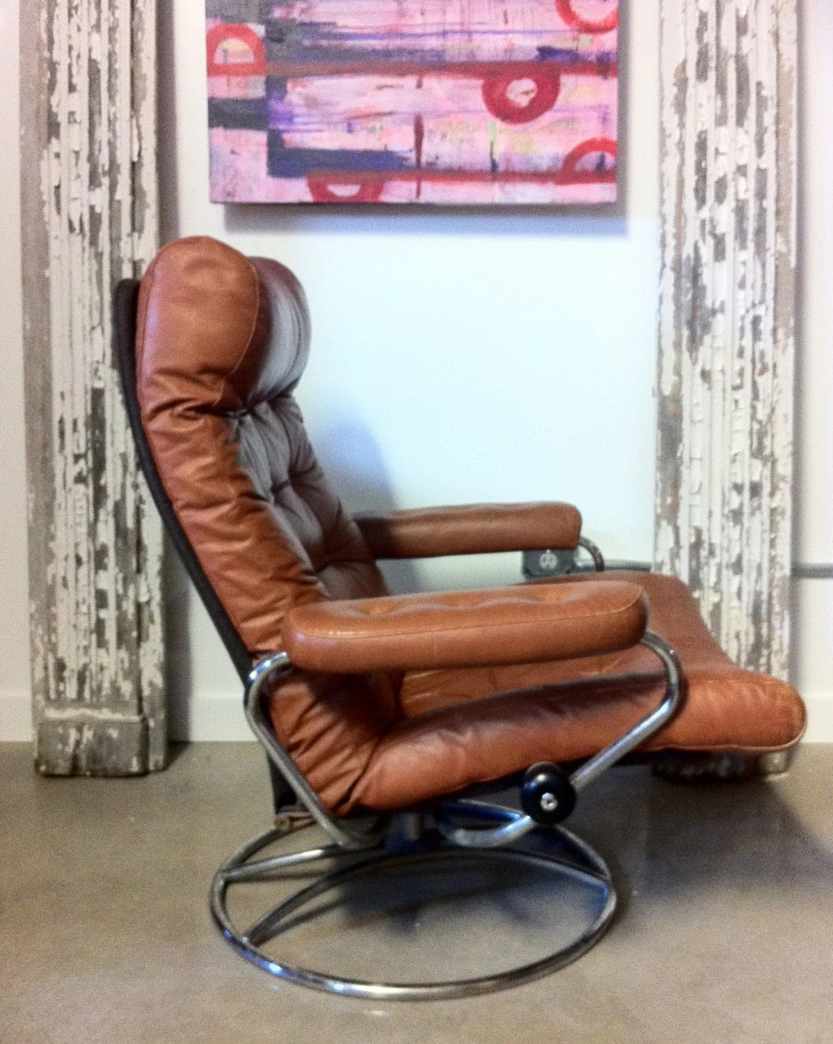 stressless chair review uk office chairs discount on hold vintage ekornes recliner and ottoman made