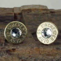Bullet Earrings Winchester 45 AUTO Crystal Club by ...