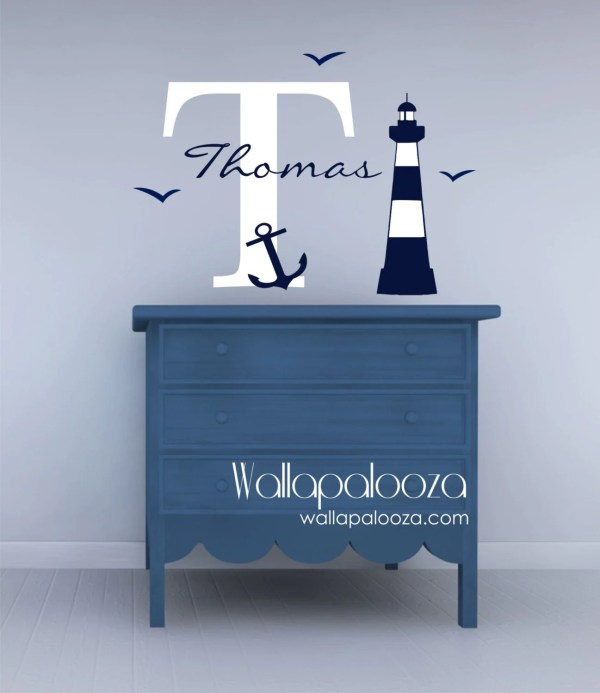 Nautical Wall Decals for Kids Rooms