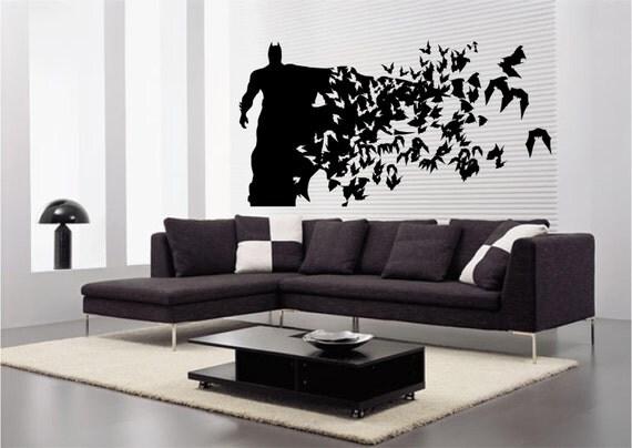 Batman Large Size Wall Decal Wall art Sticker