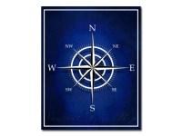 Compass Nautical Decor Nautical Compass Art by ...