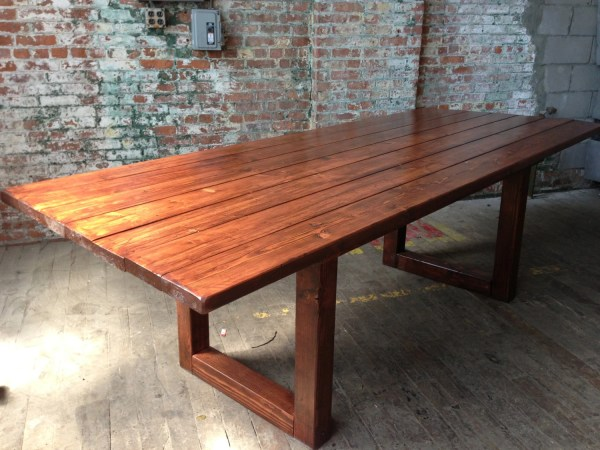 Rustic Wood Conference Tables