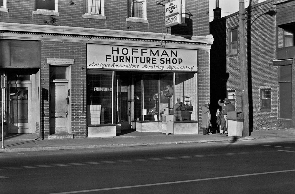 Hoffman Furniture Shop on West Main Street in