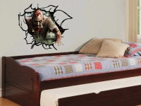Zombie 3D Vinyl Wall Decal