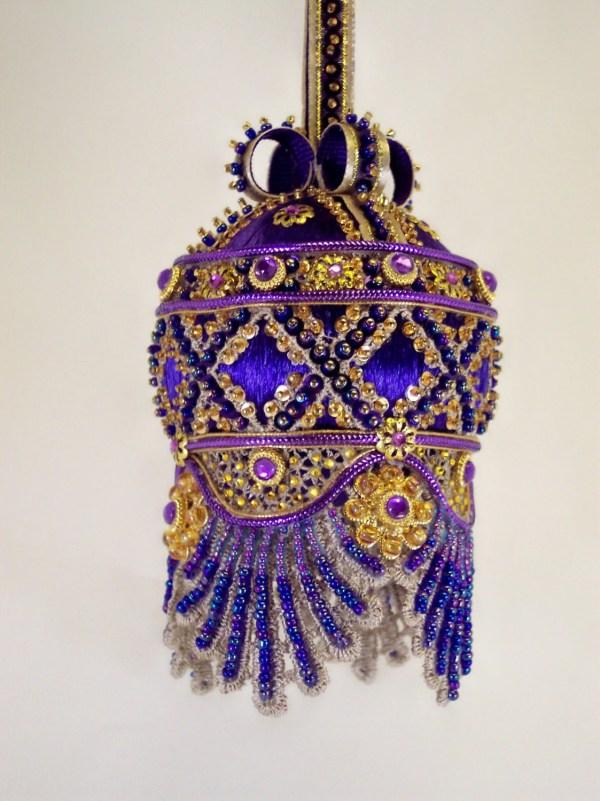 Ornament Kit Sa Majeste' De Paris With Instructions