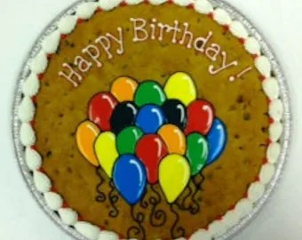 popular items cookie cake