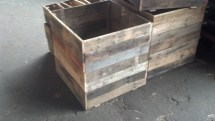 Cubed Recycle Pallet Planters