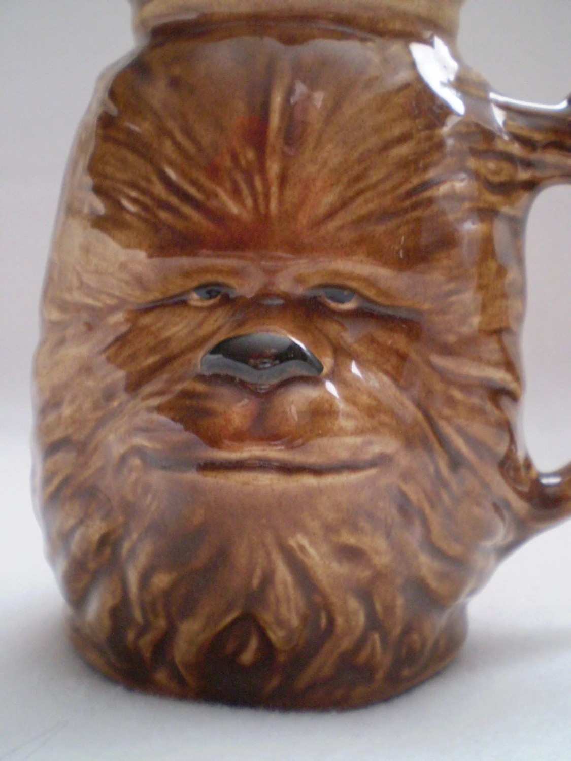 Vintage Ceramic Star Wars Chewbacca Mug