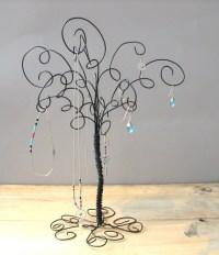 Jewelry Organizer Tree Stand Earring RingsBracelets