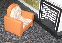 Popular items for upholstered chairs on Etsy