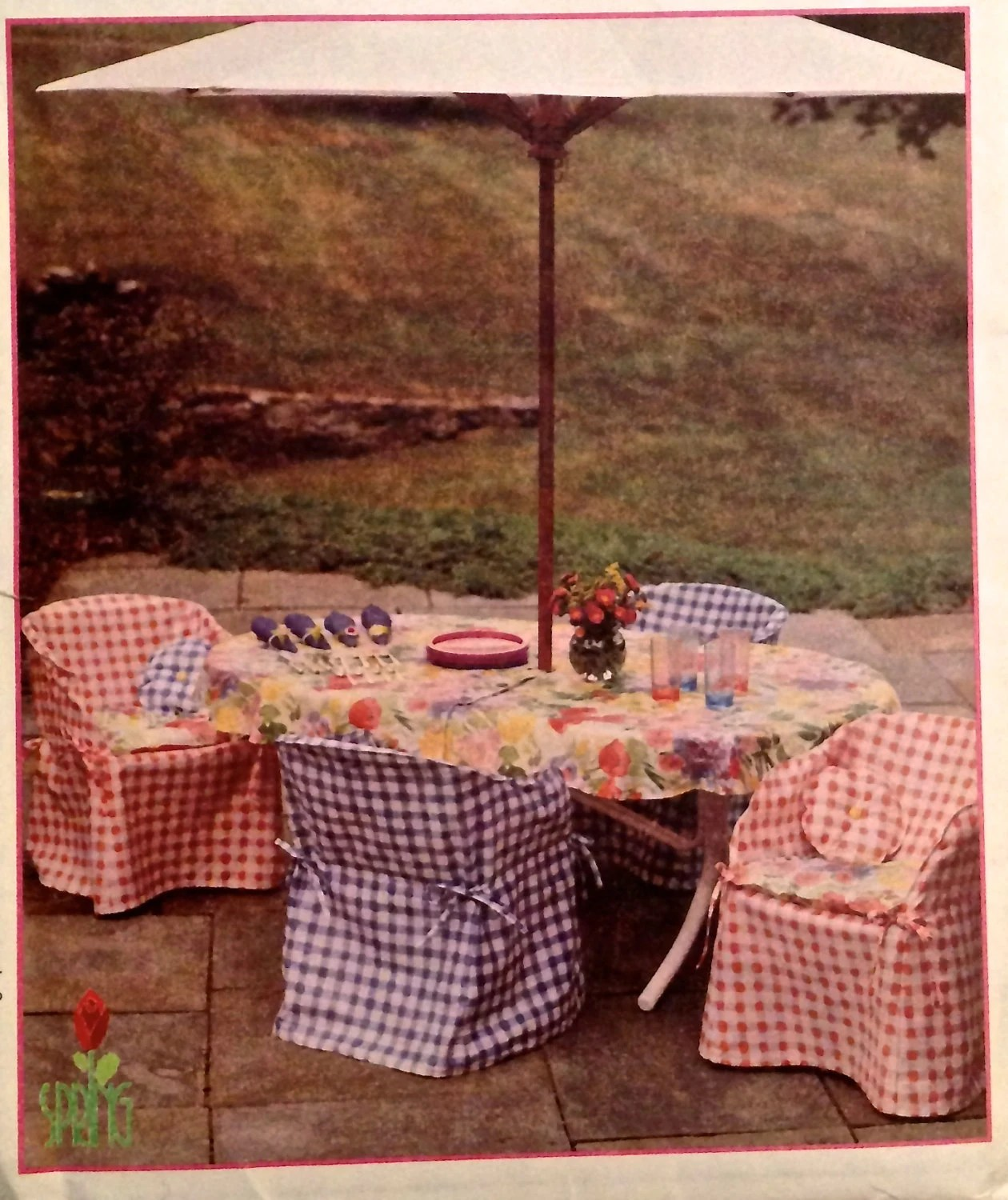sewing patterns for patio chair cushions folding good back resin cover pattern chairs and tables