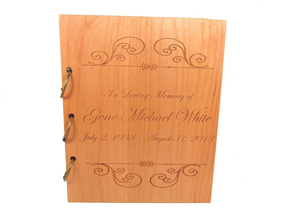 funeral guest books to buy